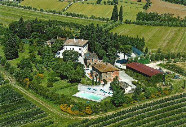 Villa La Morina aerea