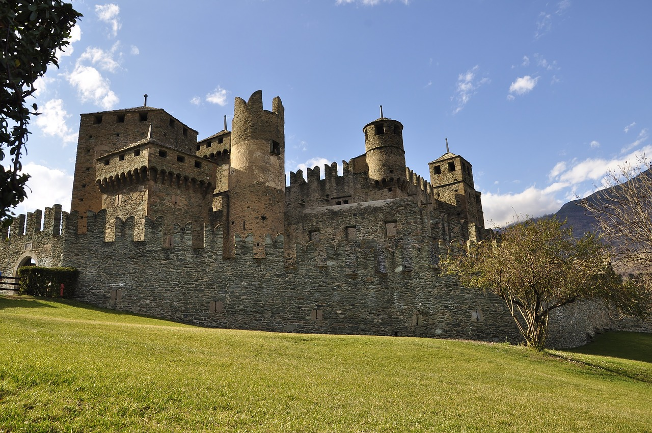 castello di Feint, Valle d'Aosta