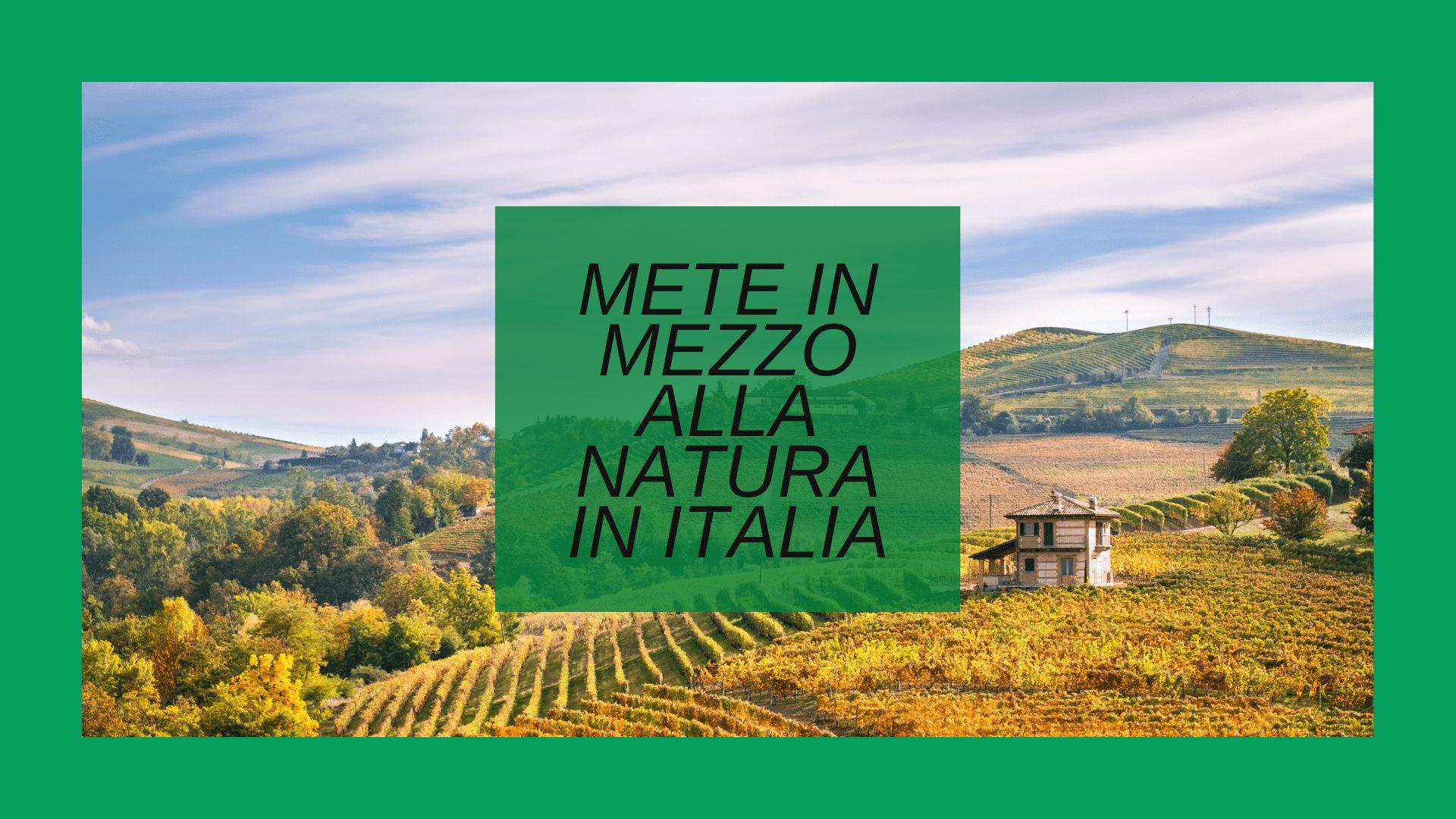 Turismo naturalistico in Italia